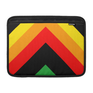 Triángulo elegante fundas para macbook air