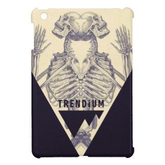Triángulo esquelético simétrico del vintage de Tre iPad Mini Cárcasa