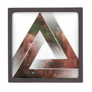 Triángulo imposible caja de joyas de calidad