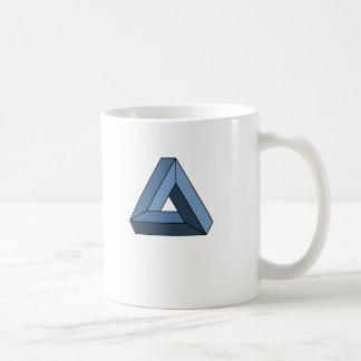 Triángulo imposible taza