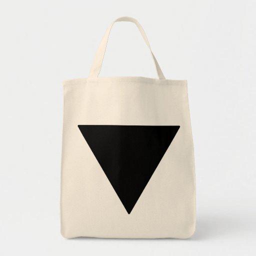 Triángulo lesbiano del negro del orgullo