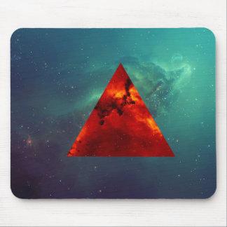 Triángulo Mousepad del espacio Tapete De Ratones