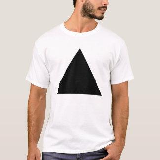 Triángulo - negro playera