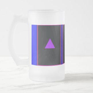 """Triángulo violeta "" Taza De Café"