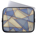 Triángulos abstractos funda portátil