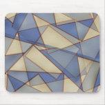 Triángulos abstractos tapete de raton