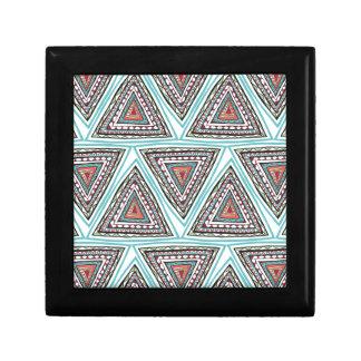 Triángulos aztecas cajas de joyas