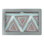 Triángulos aztecas hebilla cinturón