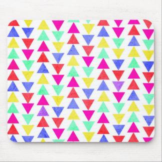 triángulos coloreados tapetes de ratón