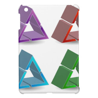 Triángulos coloridos