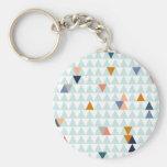 Triángulos de la hoguera llaveros