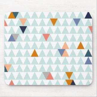 Triángulos de la hoguera mouse pad