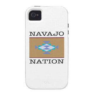 Triángulos de la nación de Navajo iPhone 4 Fundas