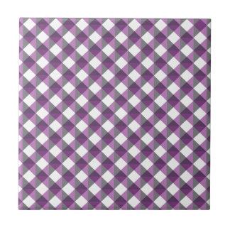 Triángulos frescos del escape azulejo cuadrado pequeño