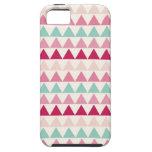 Triángulos geométricos tribales modernos de la imp iPhone 5 funda