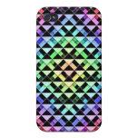 Triángulos girados iPhone 4 protectores