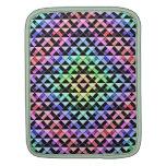 Triángulos girados mangas de iPad