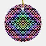 Triángulos girados ornamentos de reyes magos
