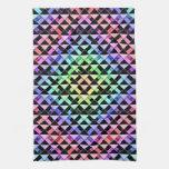 Triángulos girados toalla