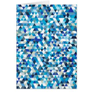 triángulos helados tarjetas