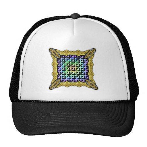 Triángulos invertidos gorras
