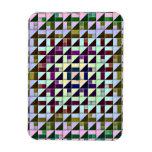 Triángulos invertidos iman rectangular