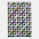 Triángulos invertidos toallas de mano