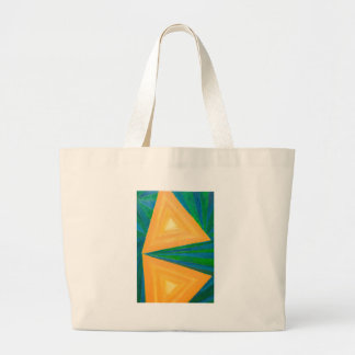 Triángulos parciales (expresionismo geométrico) bolsa
