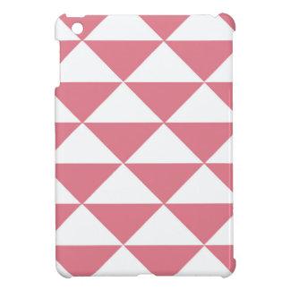 Triángulos rosados y blancos del caramelo de