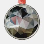 Triángulos texturizados ornamente de reyes