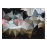 Triángulos texturizados tarjetas
