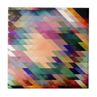 Triángulos y paralelogramos teja cerámica
