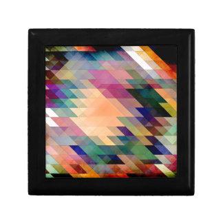 Triángulos y paralelogramos cajas de recuerdo