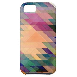 Triángulos y paralelogramos iPhone 5 protector