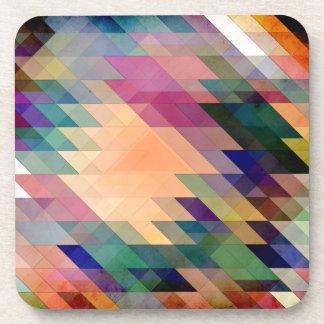 Triángulos y paralelogramos posavaso
