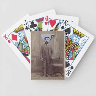 Trianlge Calligraphy Bicycle Playing Cards