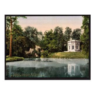 Trianon pequeno, el Pavillion y la roca de Marie Tarjetas Postales
