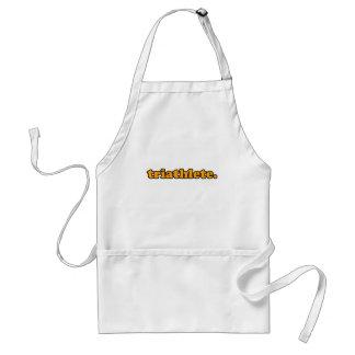 triathlete adult apron