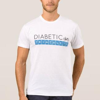 Triathlete diabético camiseta