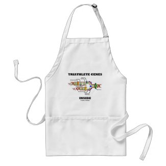 Triathlete Genes Inside (DNA Replication) Aprons