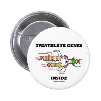 Triathlete Genes Inside (DNA Replication) Pins
