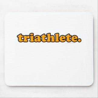 triathlete mouse pad