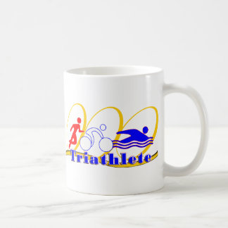 Triathlete - Run Bike Swim Classic White Coffee Mug