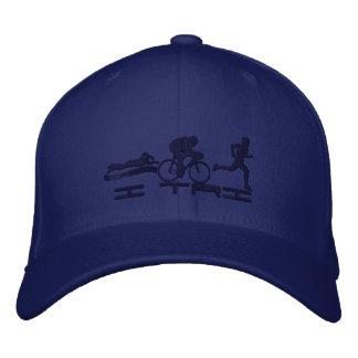 Triathlete Swimming Cycling Running Triathlon Embroidered Baseball Cap