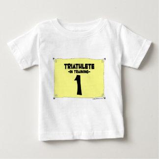triathlete_train playera para bebé
