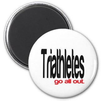 Triathletes sale todos imán redondo 5 cm