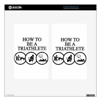 triathlon10 skin for kindle fire