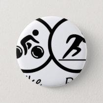 triathlon2 pinback button