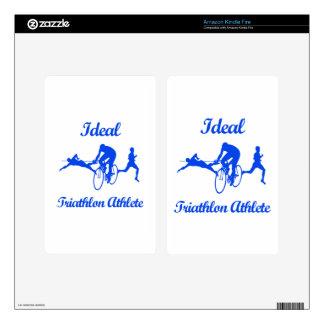 TRIATHLON ATHLETIC designs Kindle Fire Skin