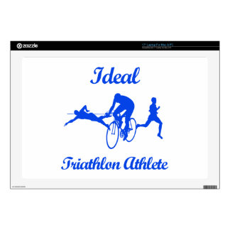 TRIATHLON ATHLETIC designs Laptop Decal